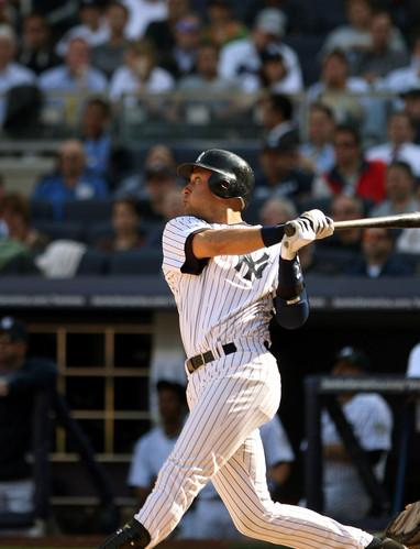 Derek Jeter hit two homers today