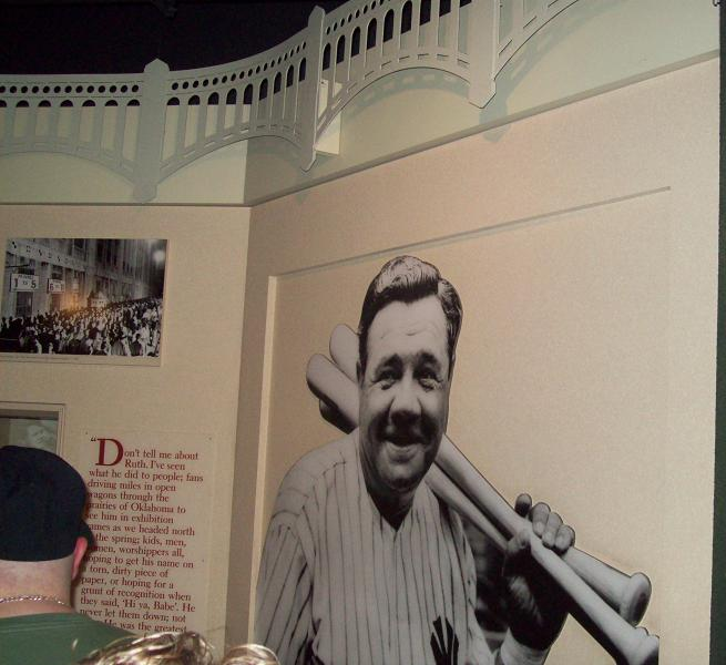 Babe Ruth Room!!