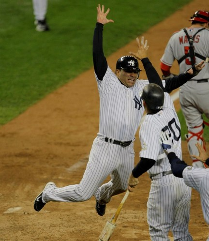 Jerry Hairston scored the winning run in Game Two of the '09 ALCS