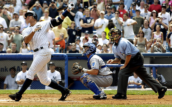 A-Rod is going for 600 this weekend