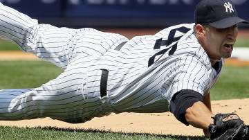 Pettitte suffered a groin injury Saturday