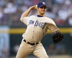 Brian pitched for the Padres in 2004