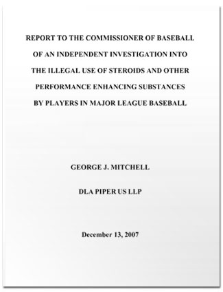 The Mitchell Report named 89 players who took steroids