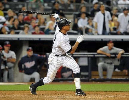 Grand Slam Man: A-Rod.