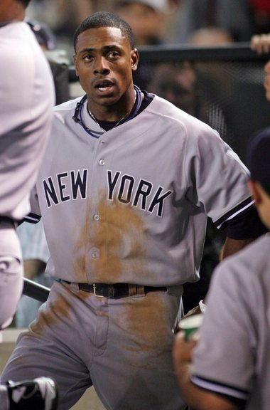 Granderson's triple gave the Yanks the lead