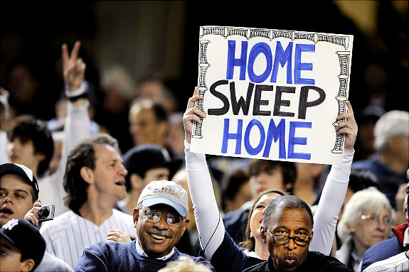 Another sweep of the twins in the ALDS!