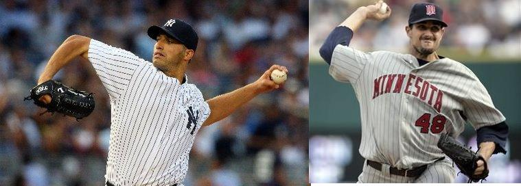 Pettitte vs. Pavano in Game Two