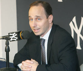 The Yankee GM is looking to land Lee