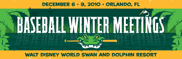 Winter Meetings start next week.