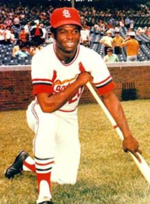 Lou Brock was traded for Ernie Broglio.