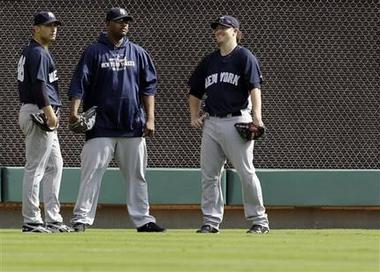 CC Sabathia (middle) and Phil Hughes (right) came close to no-hitters in 2010