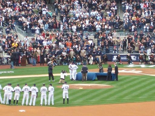 Yankees get their rings