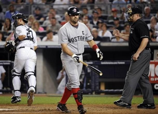 Yanks' catcher vs. Boston's catchers