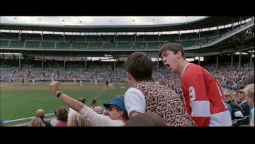 Ferris Bueller went to a game...