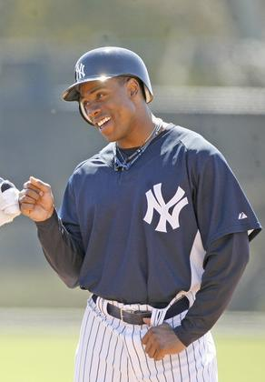 Curtis Granderson homered in today's 7-3 Yankee win