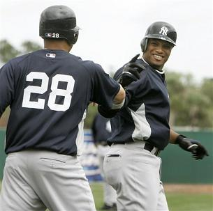 Cano homered in today's 5-5 tie