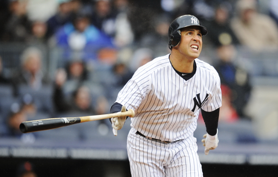 Mark Teixeira homered today, too!