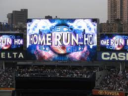 I was on base when a homer was hit.