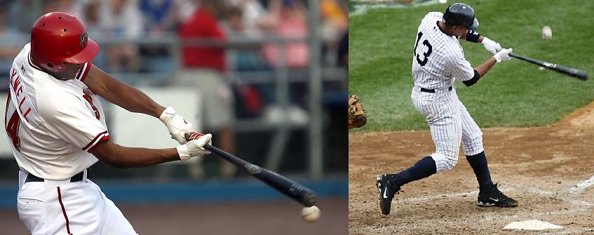 Maxwell's swing is like A-Rod's