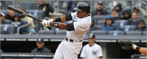 Granderson has now homered in three straight Opening Days