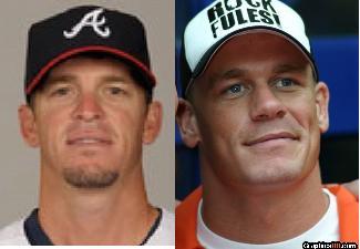Scott Proctor's doppelganger is John Cena