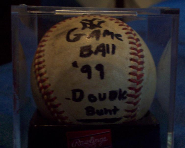 My second game ball.