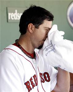 is Josh Beckett really crying?