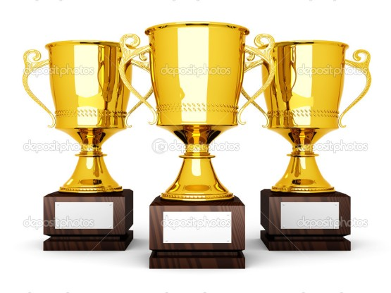 Three Trophies