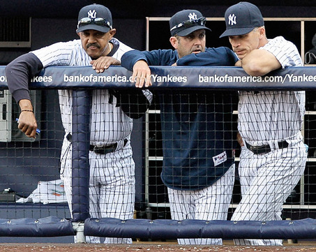 Tony Pena, Kevin Long, Joe Girardi